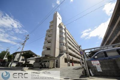 総戸数55戸のユニライフ阪神杭瀬 エレベーター完備