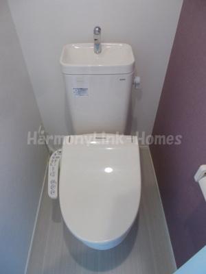 ハーモニーテラス上池袋Ⅲのゆったりとした空間のトイレです☆