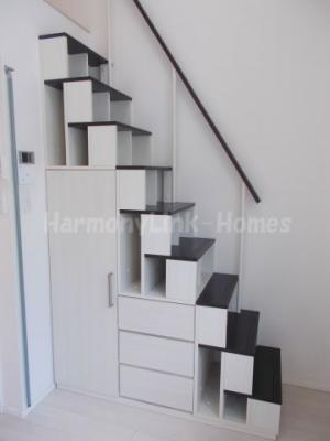 ハーモニーテラス上池袋Ⅲの物件の収納付き階段☆
