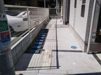 ハーモニーテラス上池袋Ⅲの駐輪スペース☆
