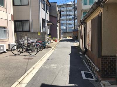 【前面道路含む現地写真】京都市中京区壬生高樋町