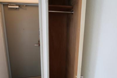 玄関横のクローゼット