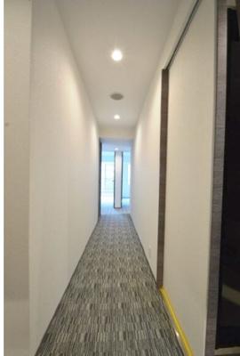 マンション内 廊下です