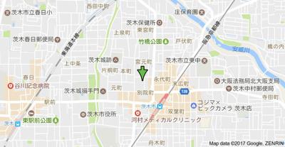 【地図】山崎第1マンション