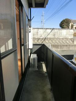 【バルコニー】浜松市一棟アパート満室賃貸中10.0%