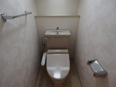 【トイレ】東急ドエル・アルス住吉本町