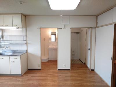 【居間・リビング】加島第3マンション