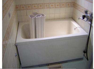 【浴室】白鳩ハイツ