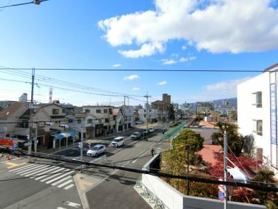 【展望】熊野町ブリックハイツ
