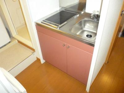 【キッチン】レオパレスグランデ