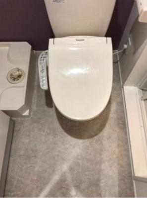 ハーモニーテラス南篠崎町の落ち着いたトイレです(別部屋参考写真)