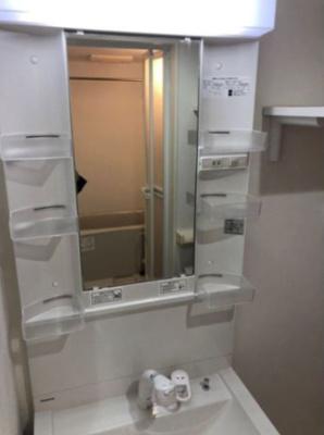 ハーモニーテラス南篠崎町の独立洗面化粧台付き(別部屋参考写真)
