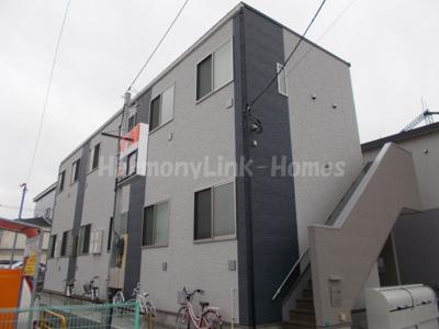 ハーモニーテラス南篠崎町の落ち着いた雰囲気の外観です(イメージ図)☆