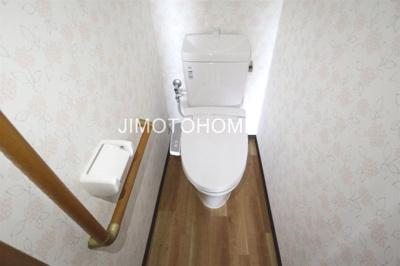 【トイレ】九条南2丁目貸家
