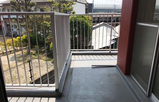 【バルコニー】エメラルドマンション井尻南