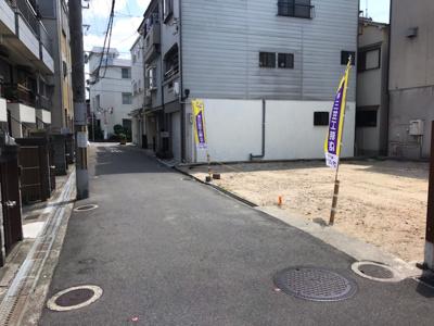 【前面道路含む現地写真】グラッド・タウン錦町