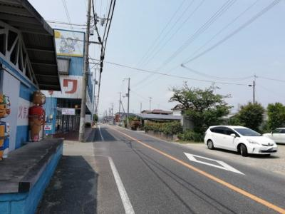 【前面道路含む現地写真】姫路市大津区平松/売土地