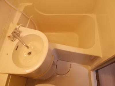 【浴室】ニッシンハイツ万代
