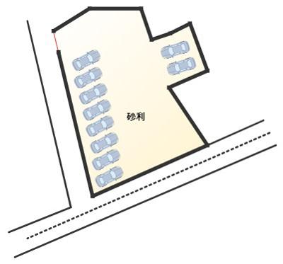 【区画図】東台パーキング