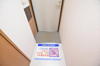 【玄関】ミーネ新町弐番館