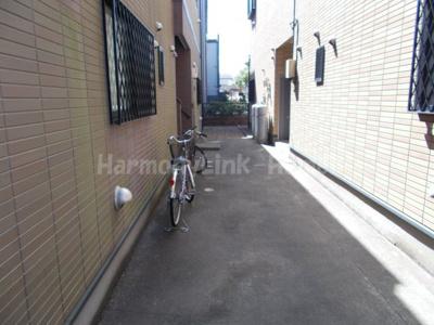 River Place Edogawaの駐輪スペース