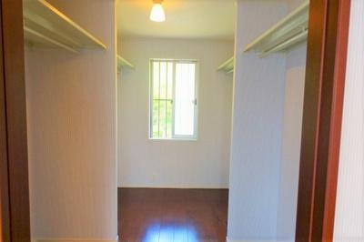 洋室 約10.2帖の専用の納戸