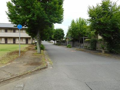 【前面道路含む現地写真】梅園2丁目売地