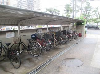 自転車置き場 <クレール松原 中古マンション>