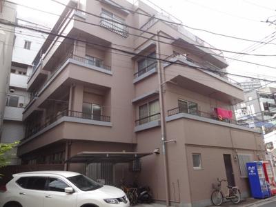 角谷マンション 鉄筋コンクリート造の4階建てマンション!日暮里・鶯谷駅から徒歩7分の好立地!