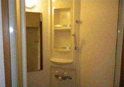 フェリスピュールのシンプルで使いやすいシャワールームです☆