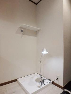 室内洗濯機置場 ※備品・小物は賃貸借対象に含まれません。