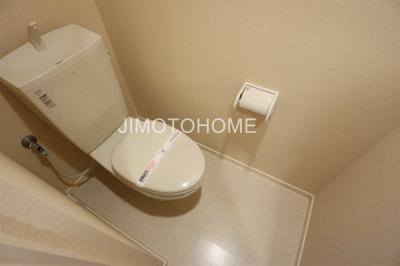 【トイレ】グランソレイユ三軒家