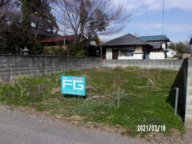 【前面道路含む現地写真】熊谷市三ヶ尻 110万 土地