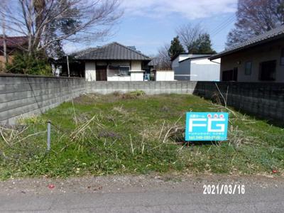 【外観】熊谷市三ヶ尻 110万 土地