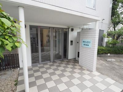 【エントランス】ダイドーメゾン岡本駅前