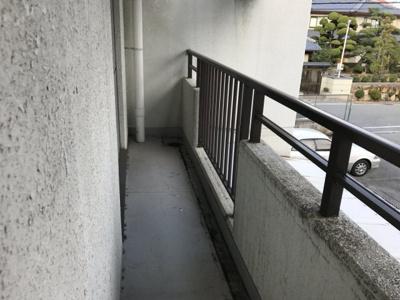 【バルコニー】甲陽マンション