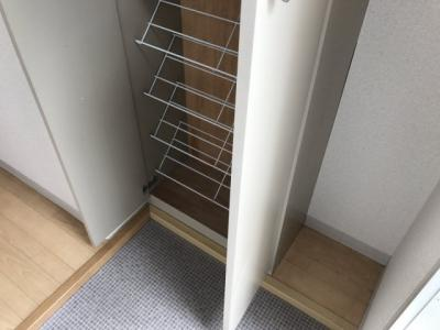 【玄関】フラットオーク