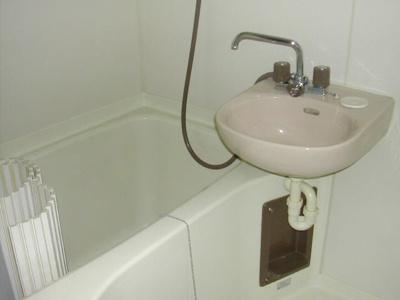 【浴室】レンバーンハイツ