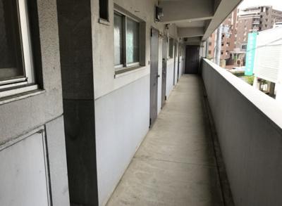 【バルコニー】郷免住宅ビル