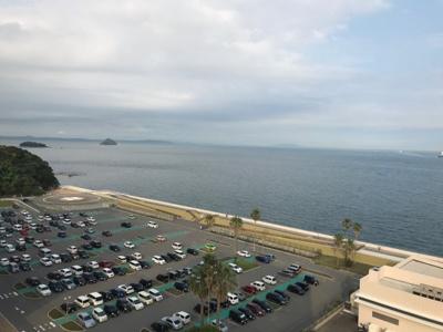 地上11階からの眺望