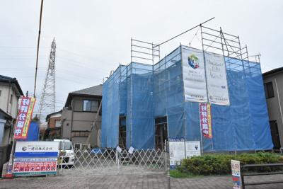 【外観】鴻巣市中央 新築一戸建て全1棟