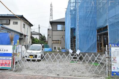 【駐車場】鴻巣市中央 新築一戸建て全1棟