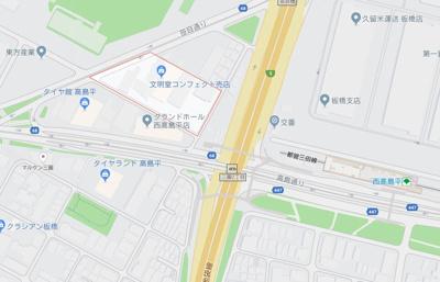 【地図】AXAS西高島平