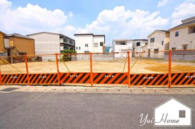 【外観】宇治市宇治矢落 注文建築 建築条件なし 土地