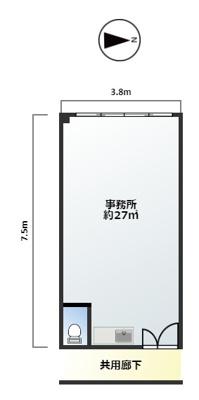 【区画図】ライオンビル東館