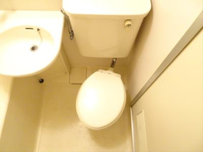 【トイレ】ウッディコーポ