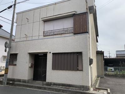 【外観】富田2丁目 土地付建物