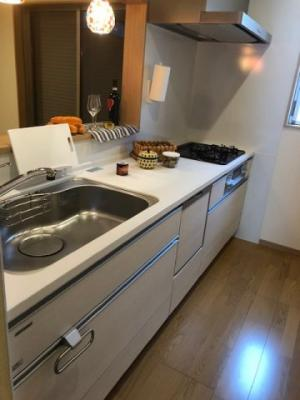 【キッチン】大東市北条7丁目 新築戸建て
