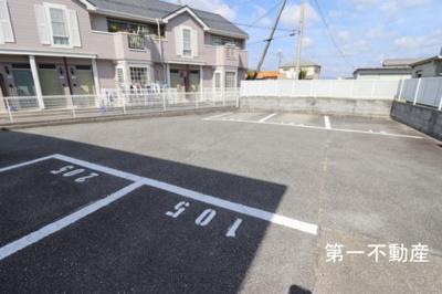【駐車場】クレール2