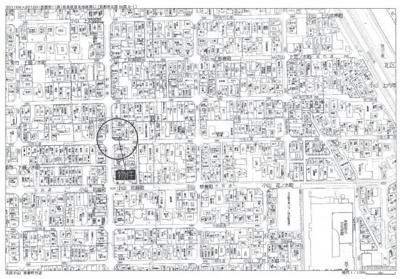 【地図】小山初音町 中古戸建